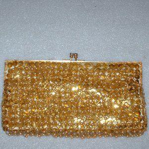 Vintage Richere pearls purse handbag clutch